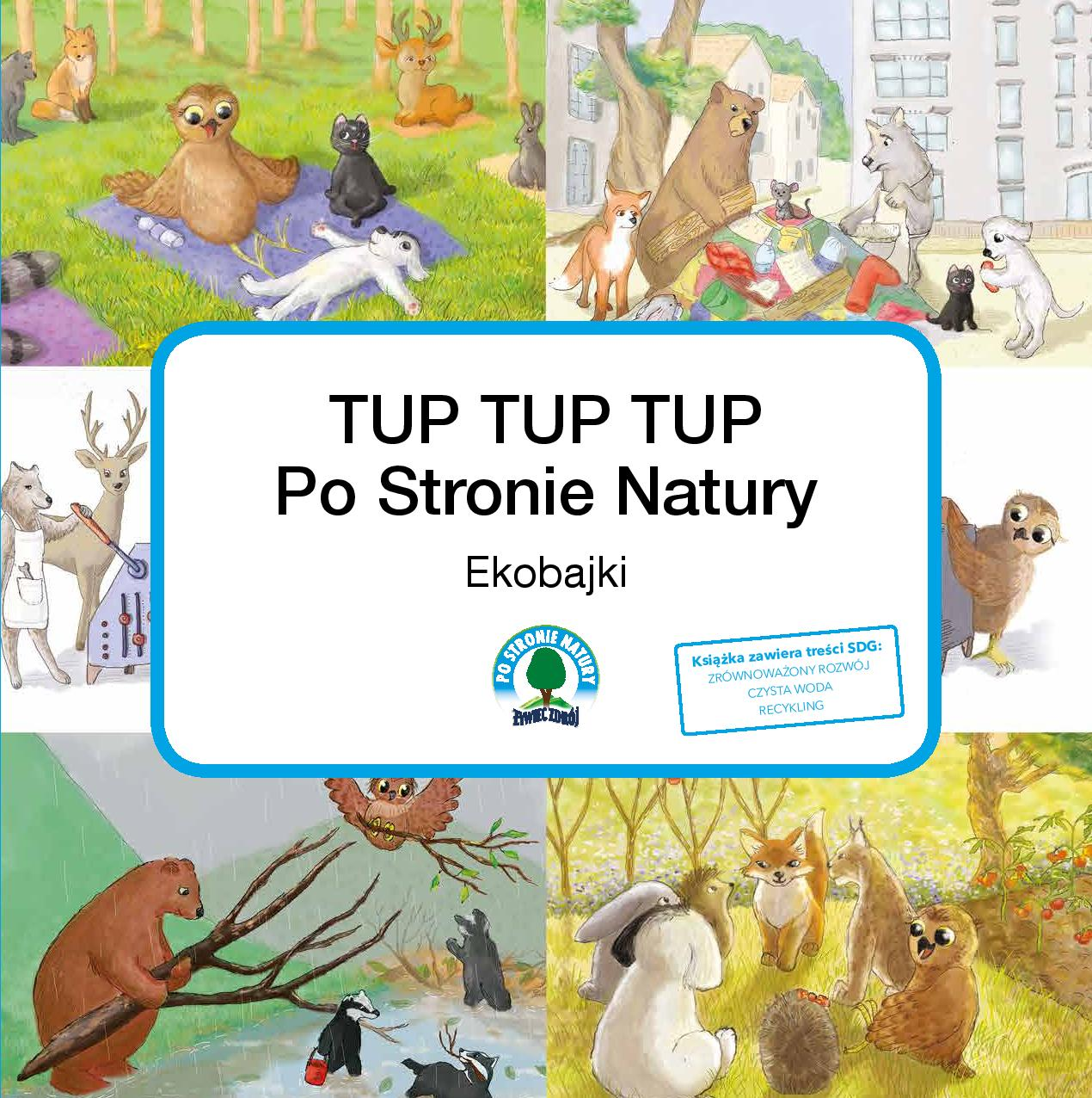 Okładka Tup Tup Tup po stronie natury