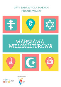 """okładka materiałów """"Warszawa wielokulturowa"""""""