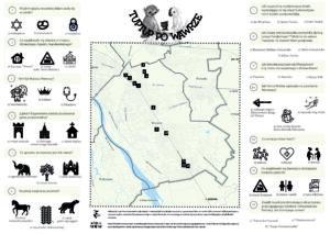 mapa spacerów po Wawrze
